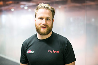 CitySport personal trainer Scott Hartley
